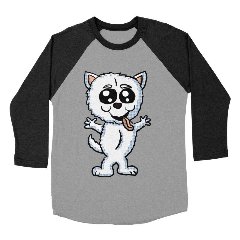 Cute Sheltie Women's Baseball Triblend T-Shirt by ericallen's Artist Shop