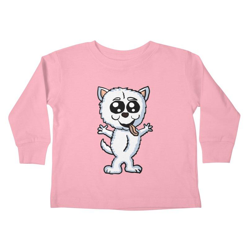 Cute Sheltie Kids Toddler Longsleeve T-Shirt by ericallen's Artist Shop