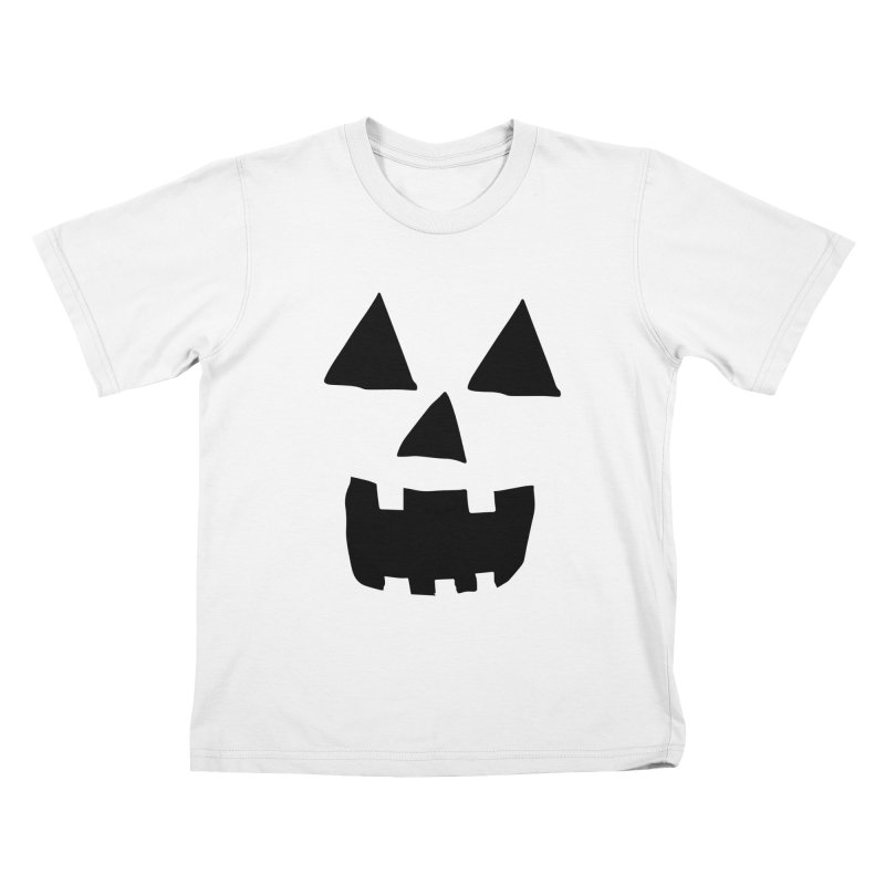 Jack O Lantern Face Kids T-shirt by ericallen's Artist Shop