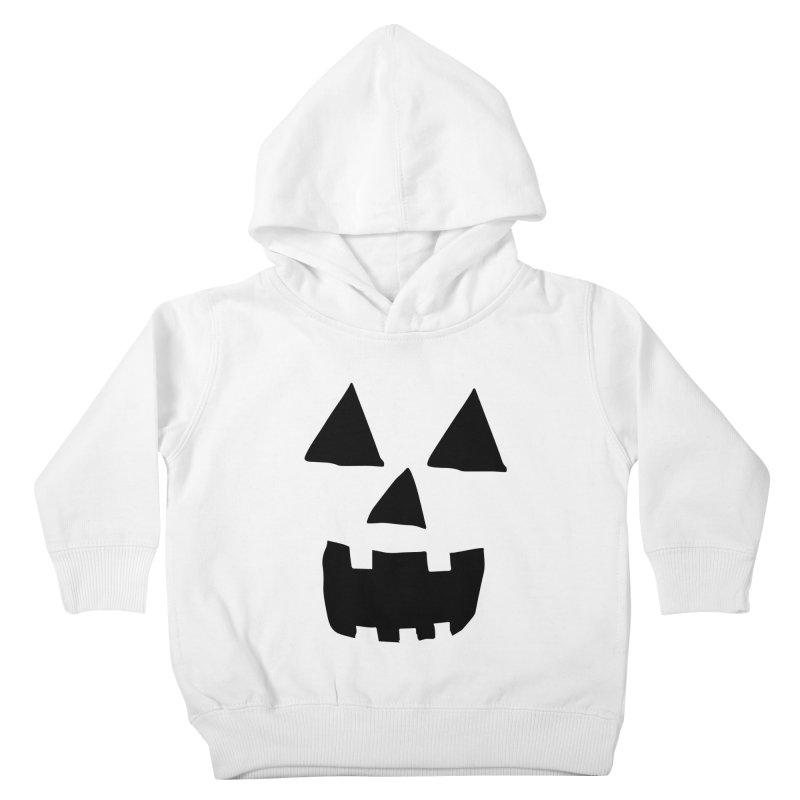 Jack O Lantern Face Kids Toddler Pullover Hoody by ericallen's Artist Shop