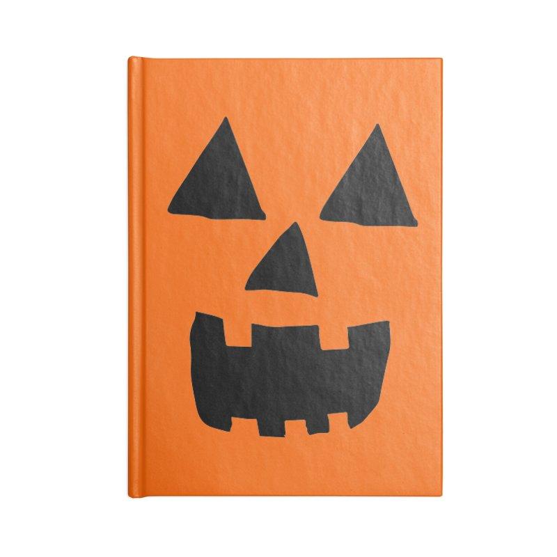Jack O Lantern Face Accessories Notebook by ericallen's Artist Shop