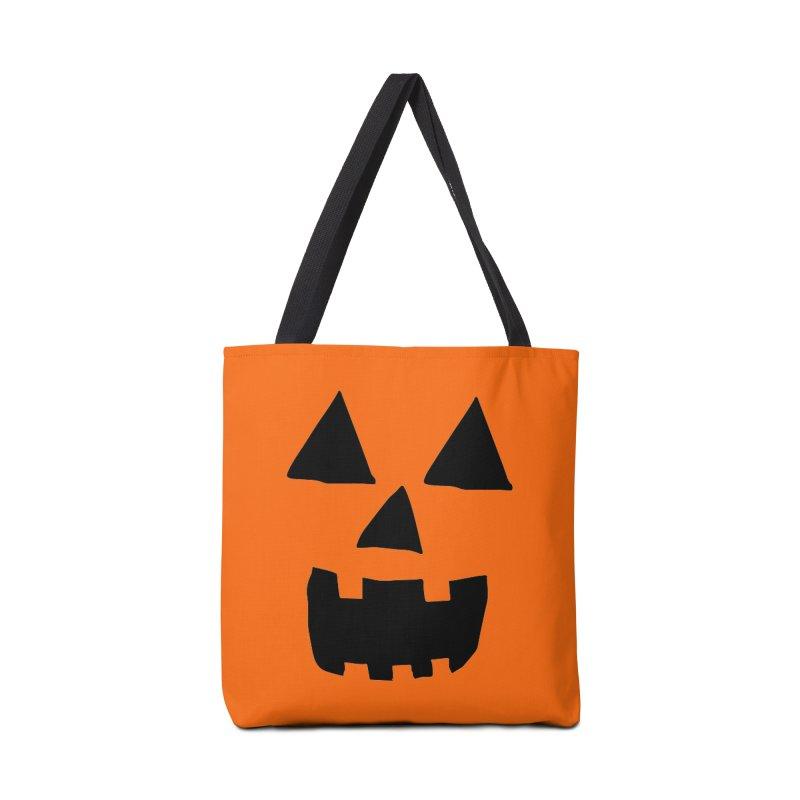 Jack O Lantern Face Accessories Bag by ericallen's Artist Shop