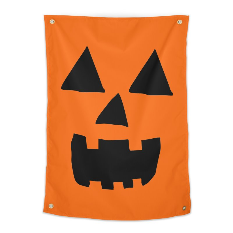 Jack O Lantern Face Home Tapestry by ericallen's Artist Shop