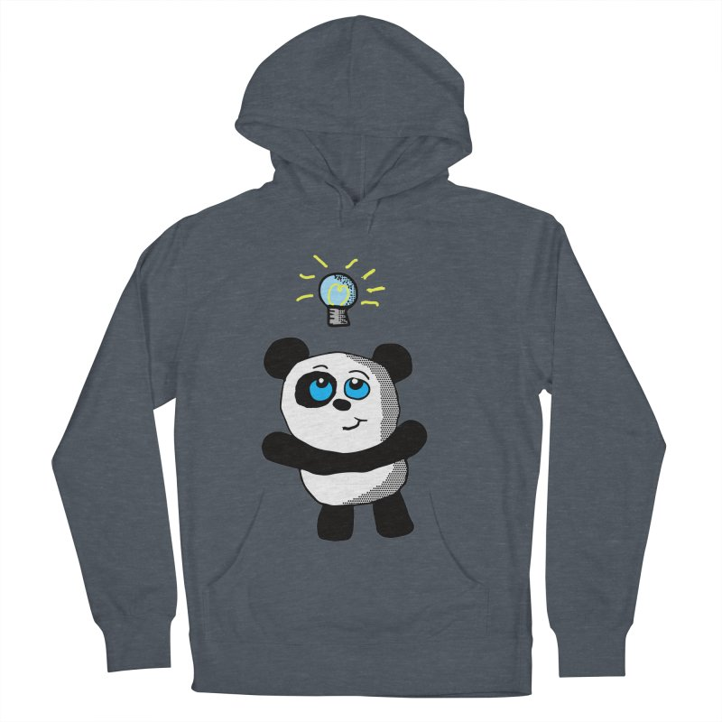Lightbulb Panda Women's Pullover Hoody by ericallen's Artist Shop
