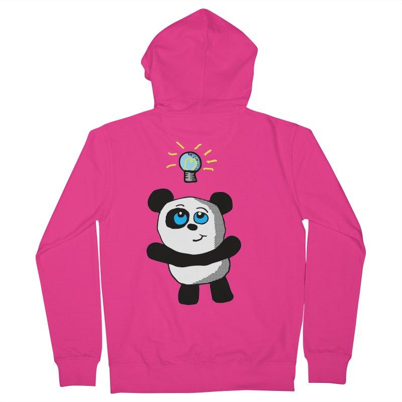 Lightbulb Panda Men's Zip-Up Hoody by ericallen's Artist Shop