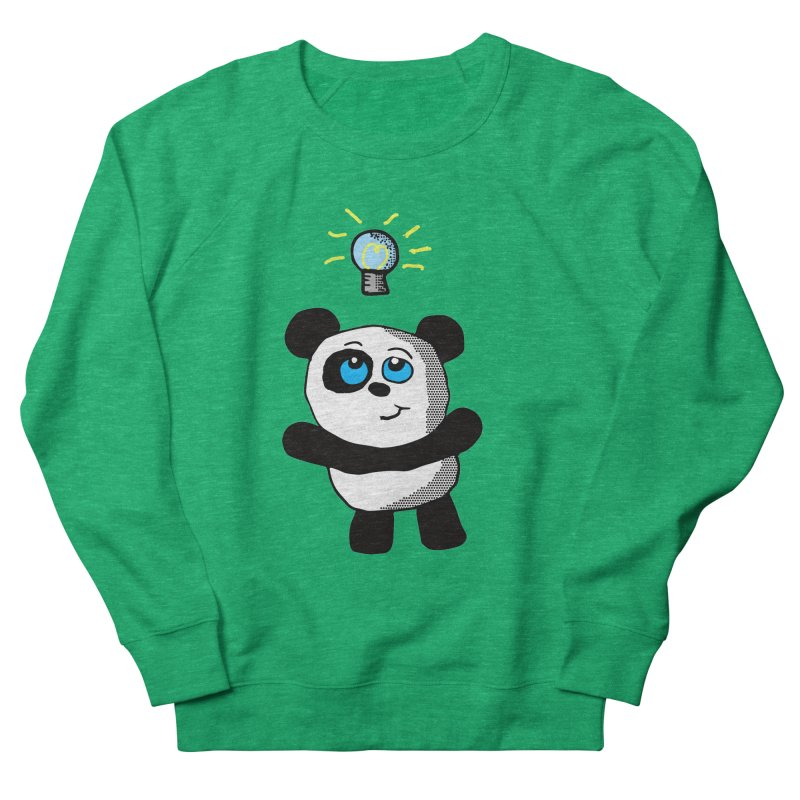 Lightbulb Panda Women's Sweatshirt by ericallen's Artist Shop