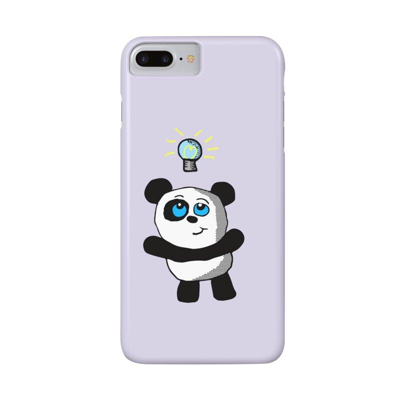 Lightbulb Panda Accessories Phone Case by ericallen's Artist Shop