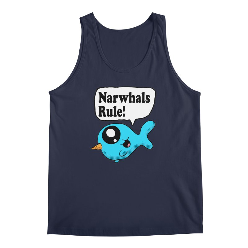 Narwhals Rule Men's Tank by ericallen's Artist Shop