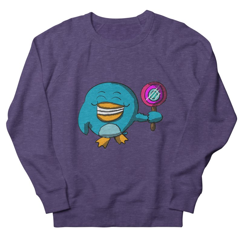 Lollipop Penguin Men's Sweatshirt by ericallen's Artist Shop