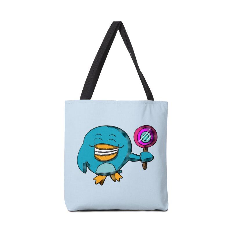 Lollipop Penguin Accessories Bag by ericallen's Artist Shop