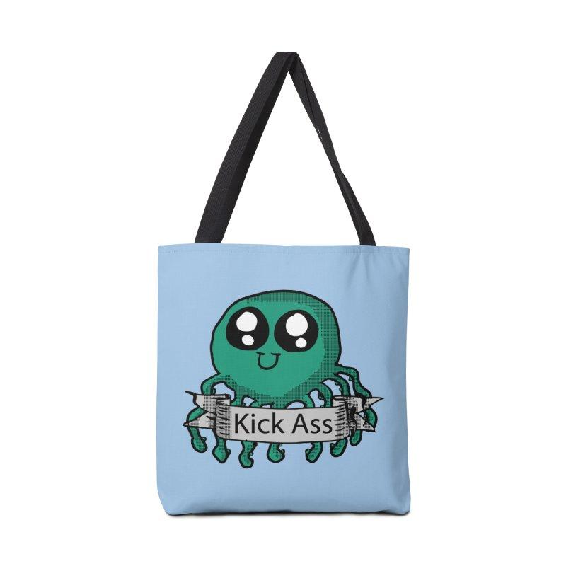 Kick Ass Octopus Accessories Bag by ericallen's Artist Shop