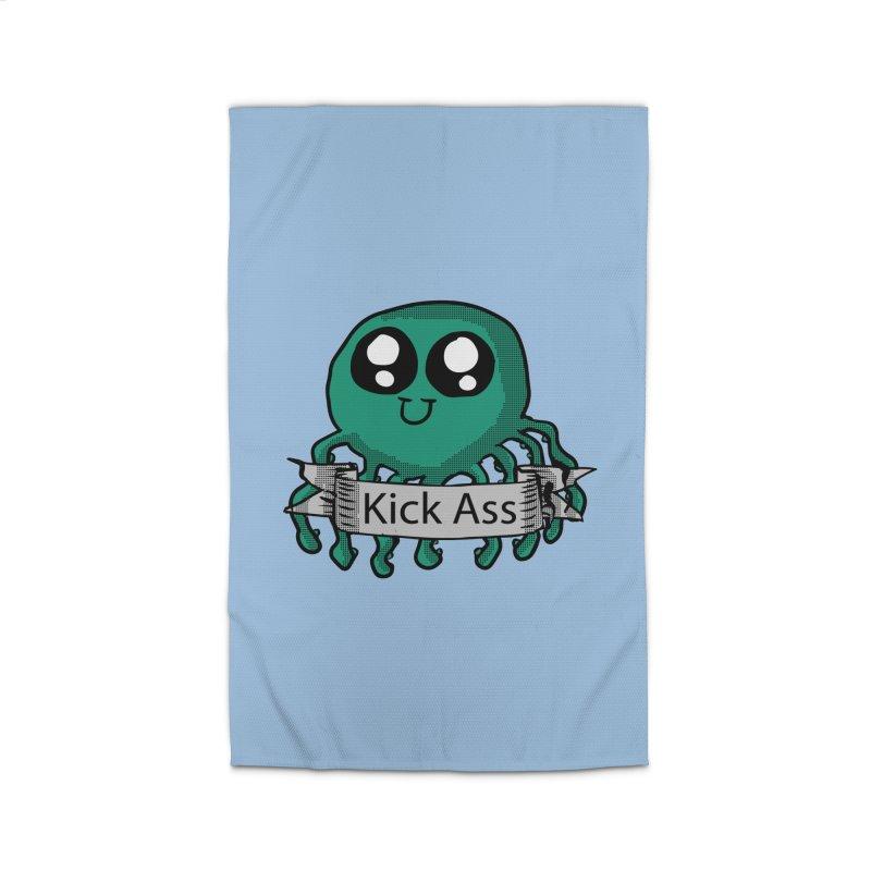 Kick Ass Octopus Home Rug by ericallen's Artist Shop