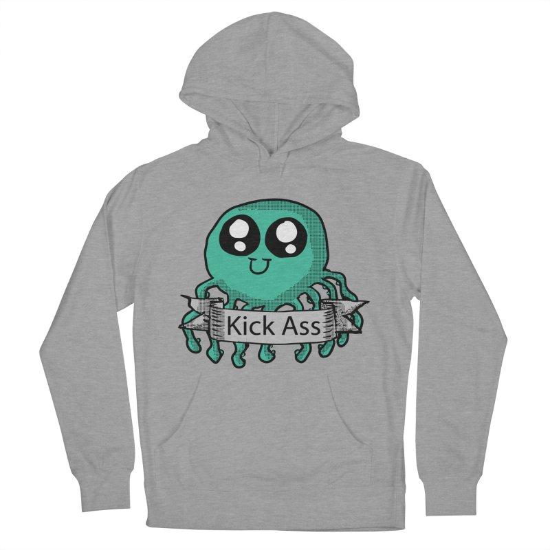 Kick Ass Octopus Women's Pullover Hoody by ericallen's Artist Shop