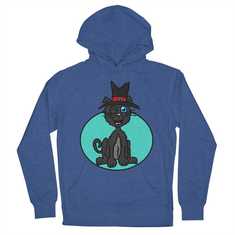 Black Cat Witch Women's Pullover Hoody by ericallen's Artist Shop