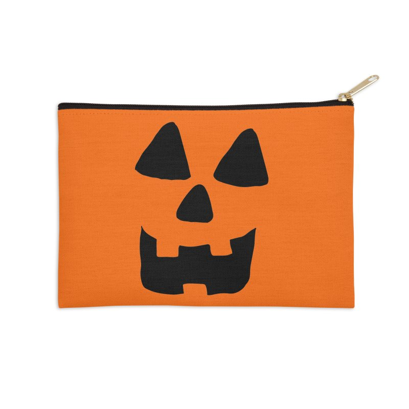 Jackolantern face Accessories Zip Pouch by ericallen's Artist Shop