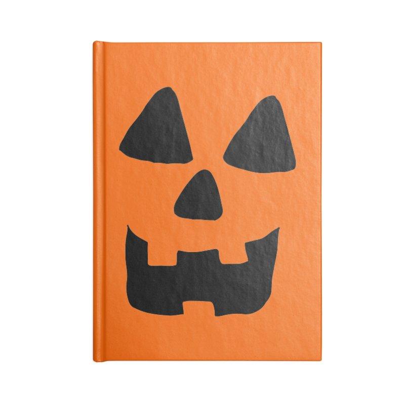 Jackolantern face Accessories Notebook by ericallen's Artist Shop