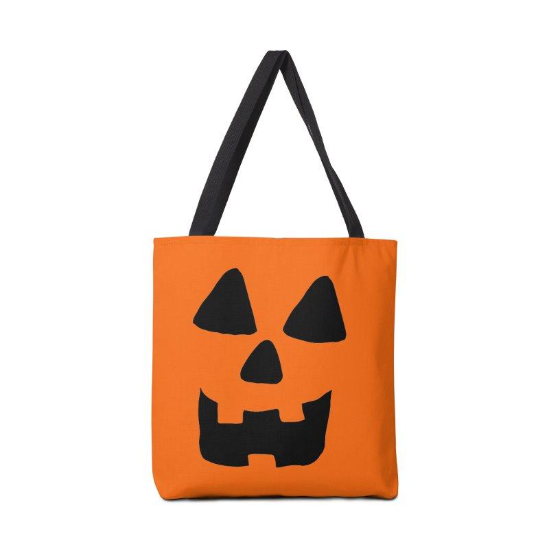 Jackolantern face Accessories Bag by ericallen's Artist Shop