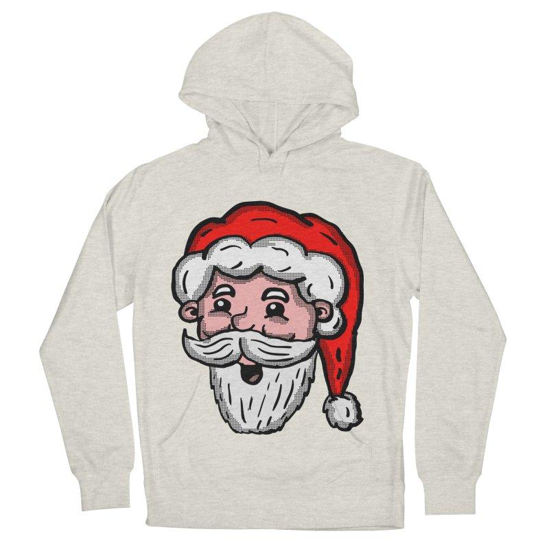 Cartoon Santa Head Women's Pullover Hoody by ericallen's Artist Shop