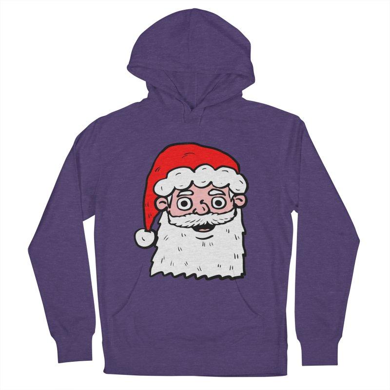Cartoon Santa Head 2 Women's Pullover Hoody by ericallen's Artist Shop