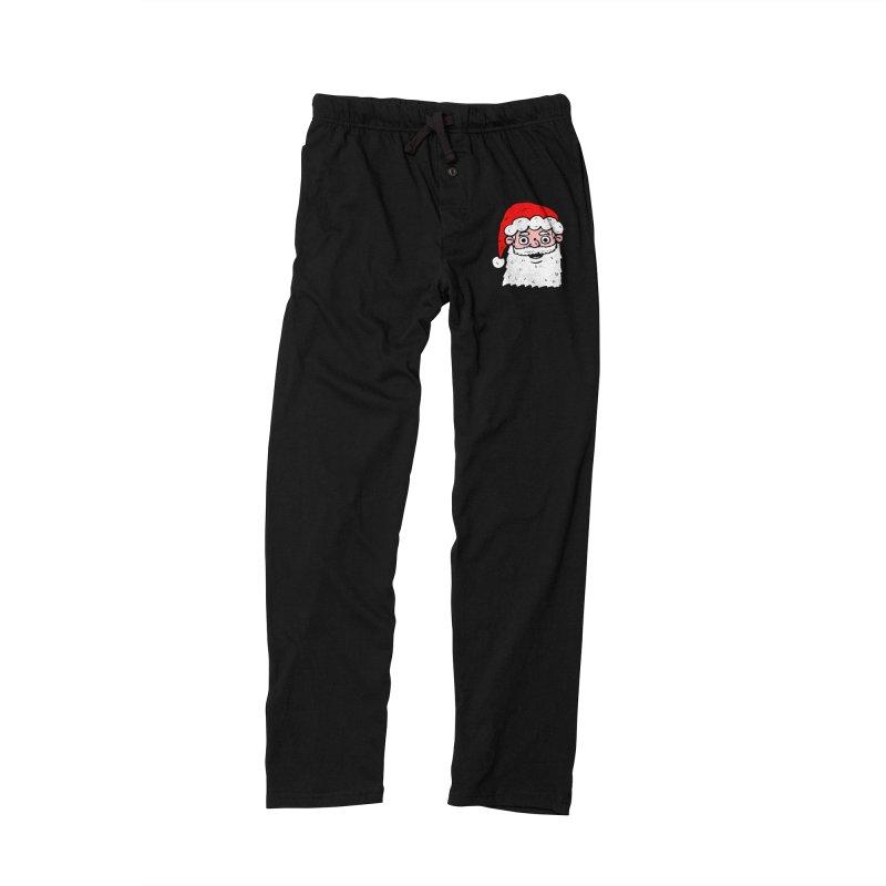 Cartoon Santa Head 2 Men's Lounge Pants by ericallen's Artist Shop