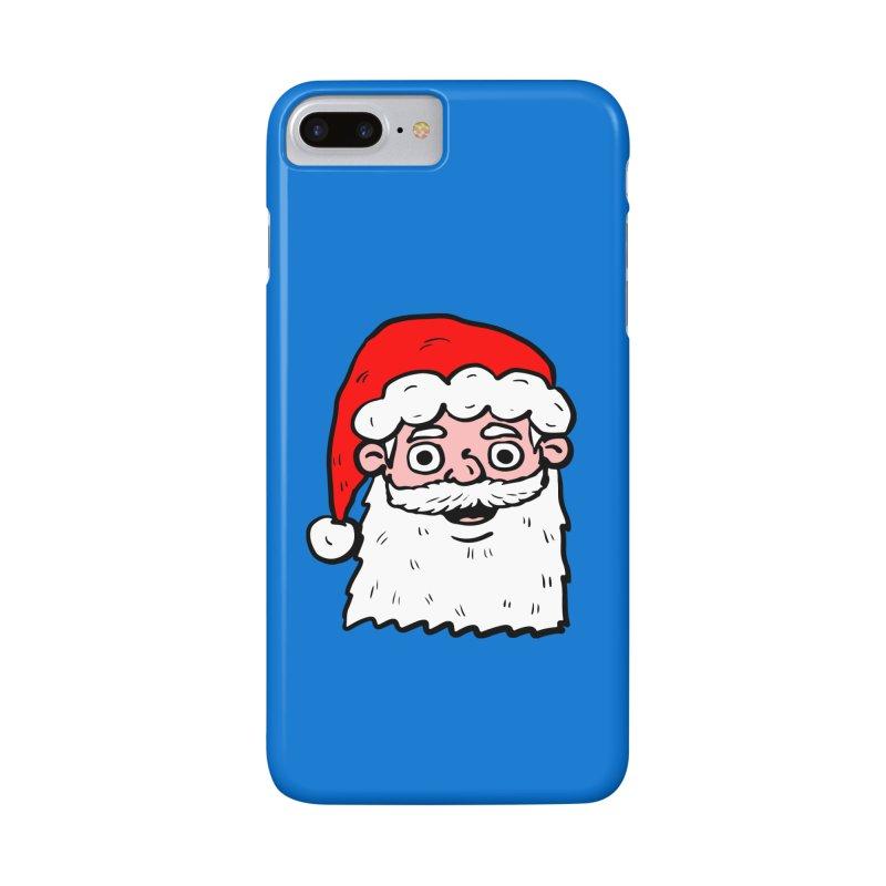 Cartoon Santa Head 2 Accessories Phone Case by ericallen's Artist Shop