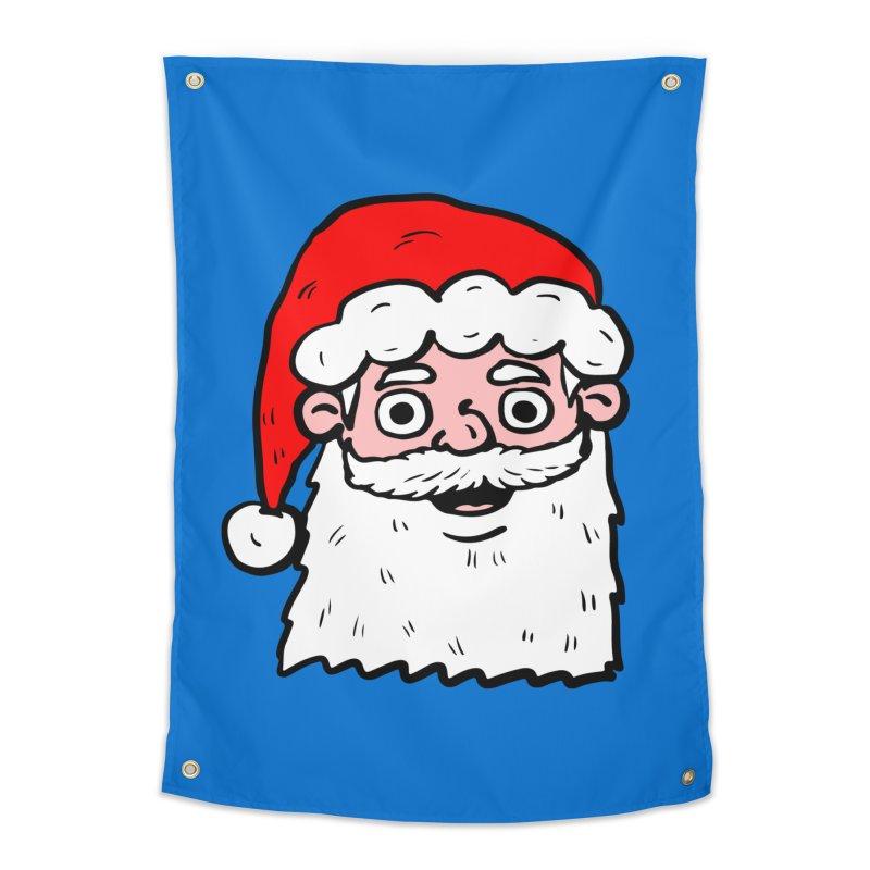 Cartoon Santa Head 2 Home Tapestry by ericallen's Artist Shop