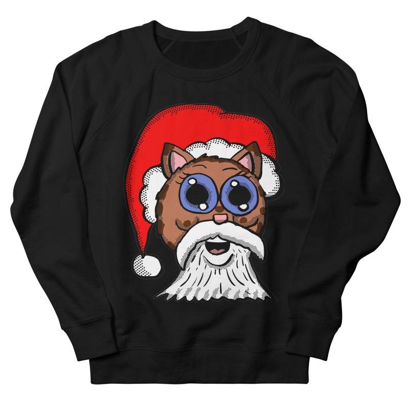 Santa Kitty Men's Sweatshirt by ericallen's Artist Shop
