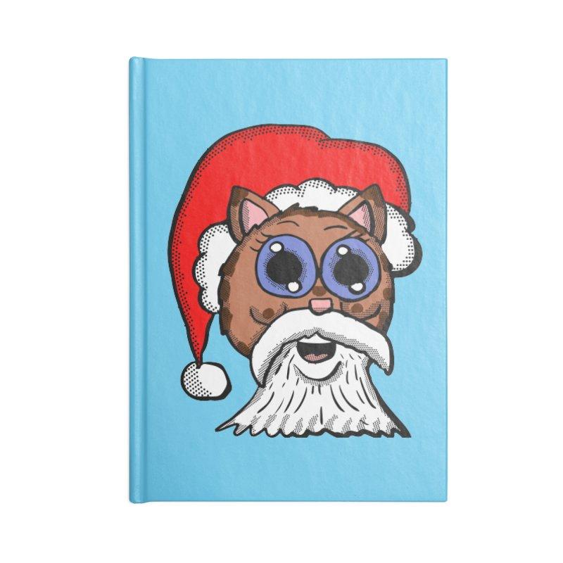 Santa Kitty Accessories Notebook by ericallen's Artist Shop