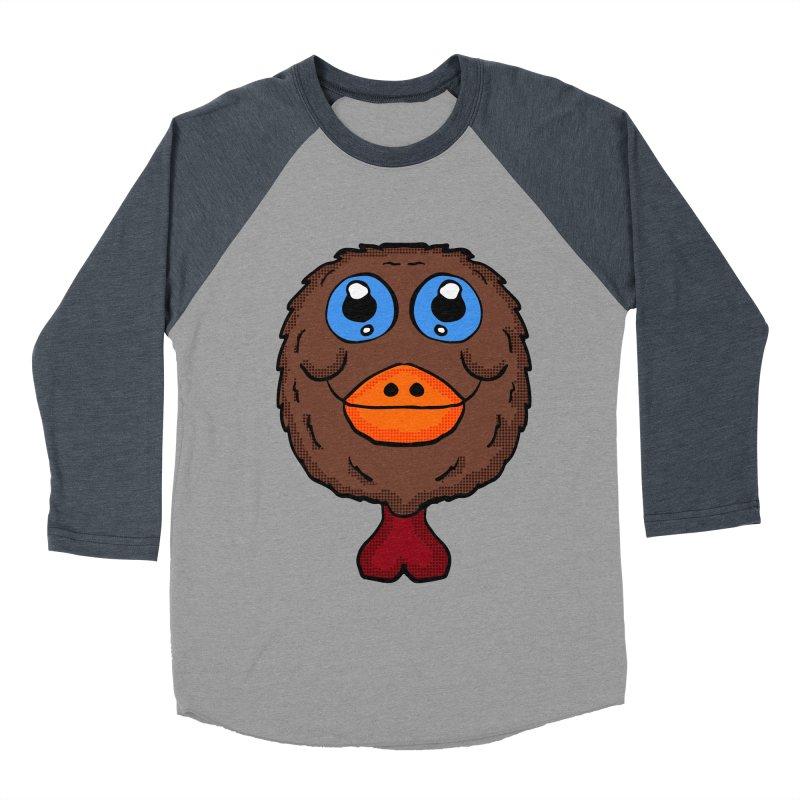 Turkey Head Women's Baseball Triblend T-Shirt by ericallen's Artist Shop