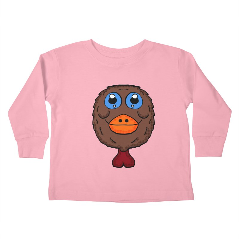 Turkey Head Kids Toddler Longsleeve T-Shirt by ericallen's Artist Shop