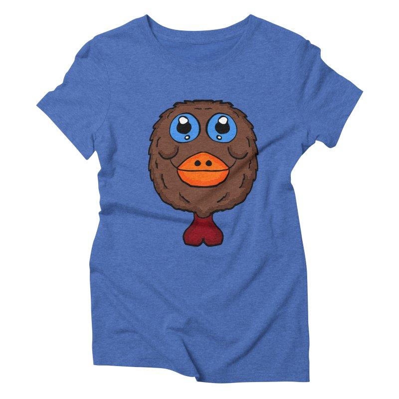 Turkey Head Women's Triblend T-shirt by ericallen's Artist Shop