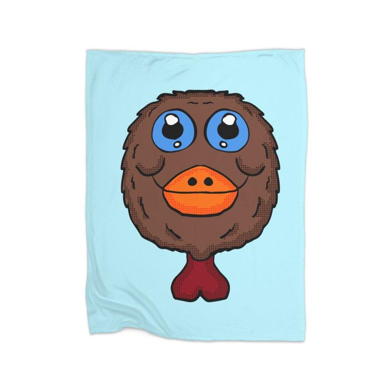 Turkey Head Home Blanket by ericallen's Artist Shop
