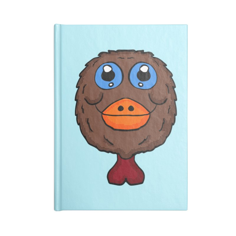 Turkey Head Accessories Notebook by ericallen's Artist Shop
