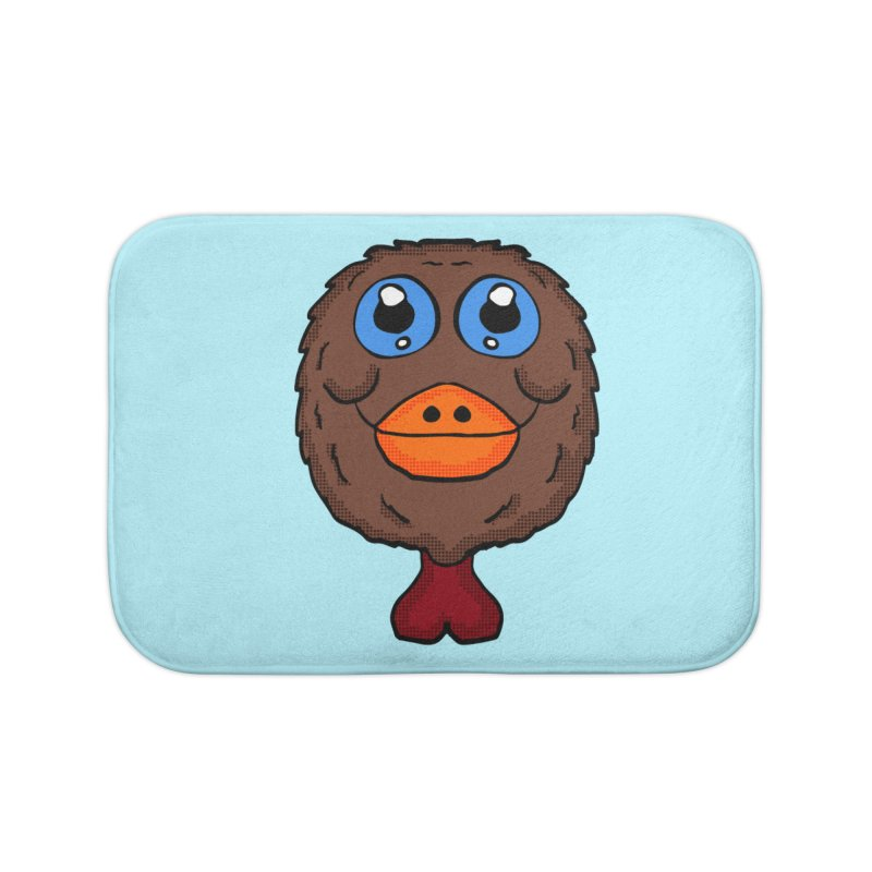 Turkey Head Home Bath Mat by ericallen's Artist Shop