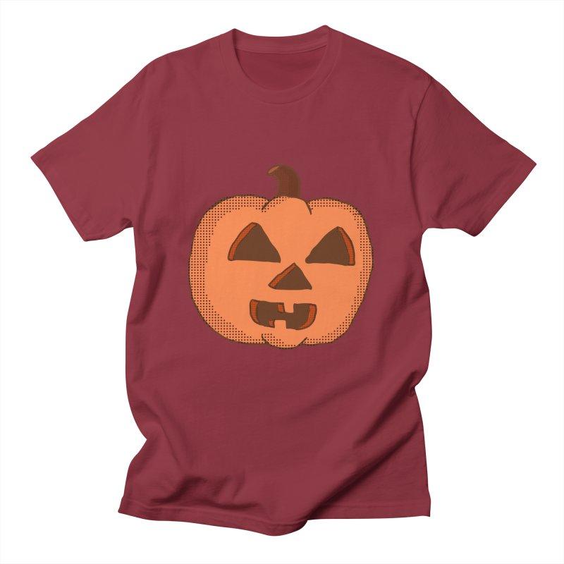 Jackolantern Vector Men's T-shirt by ericallen's Artist Shop