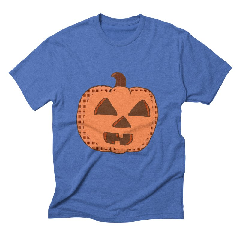 Jackolantern Vector Men's Triblend T-shirt by ericallen's Artist Shop