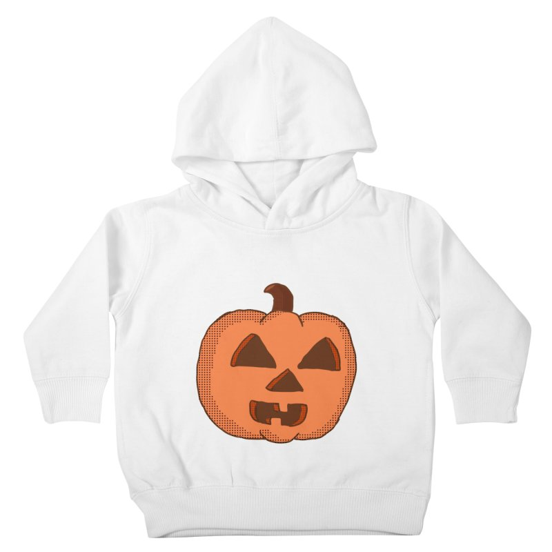 Jackolantern Vector Kids Toddler Pullover Hoody by ericallen's Artist Shop