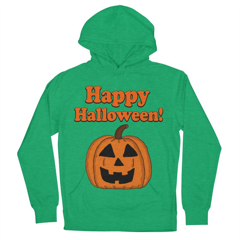 Happy Halloween Jackolantern Men's Pullover Hoody by ericallen's Artist Shop