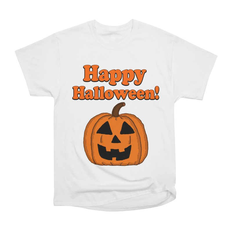 Happy Halloween Jackolantern Men's Classic T-Shirt by ericallen's Artist Shop