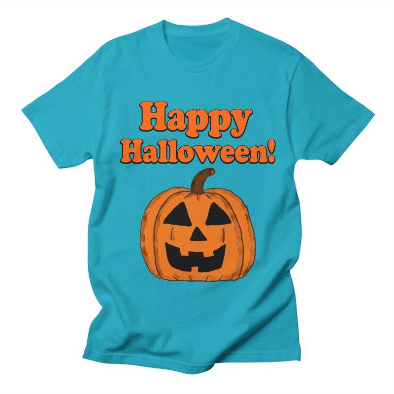 Happy Halloween Jackolantern Women's Unisex T-Shirt by ericallen's Artist Shop