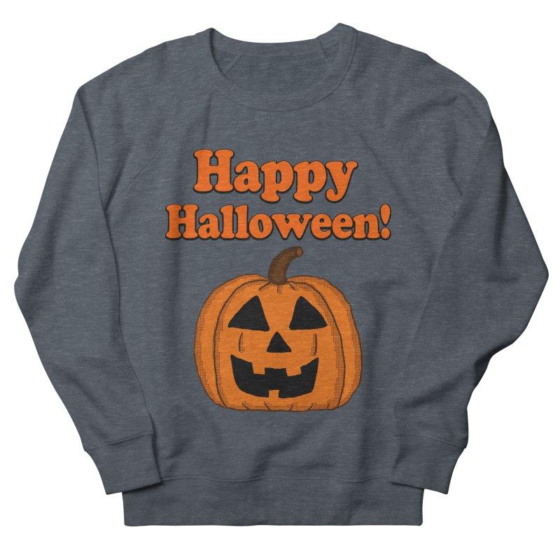 Happy Halloween Jackolantern Men's Sweatshirt by ericallen's Artist Shop