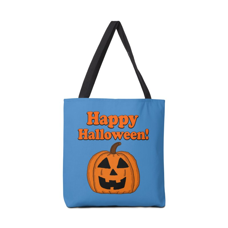 Happy Halloween Jackolantern Accessories Bag by ericallen's Artist Shop