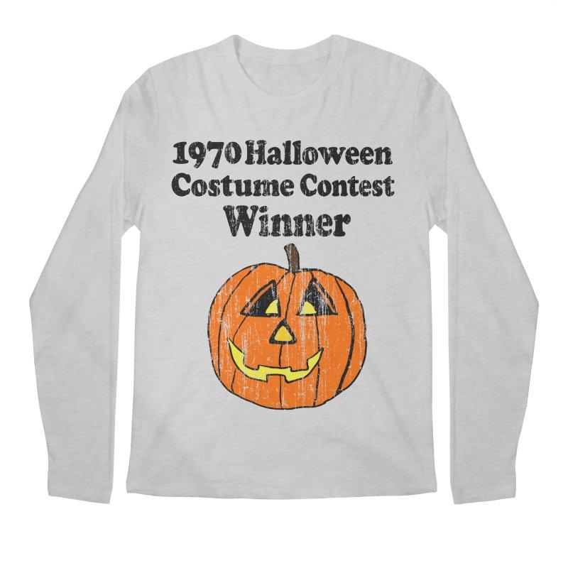 Vintage 1970 Halloween Costume Contest Winner Men's Longsleeve T-Shirt by ericallen's Artist Shop