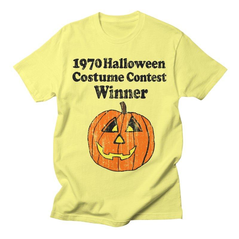 Vintage 1970 Halloween Costume Contest Winner Men's T-shirt by ericallen's Artist Shop
