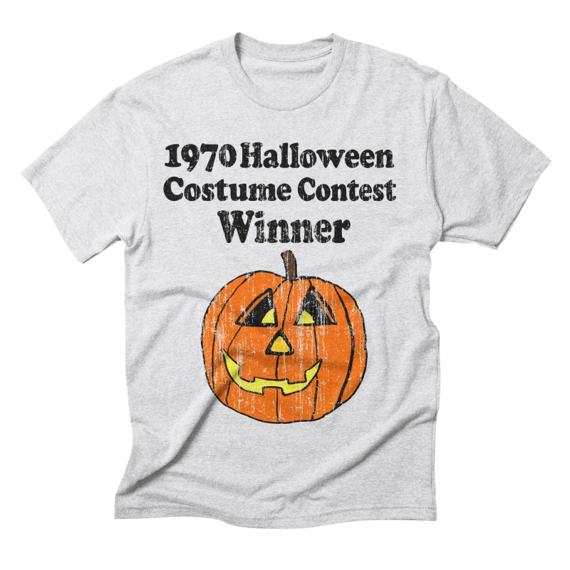 Vintage 1970 Halloween Costume Contest Winner Men's Triblend T-Shirt by ericallen's Artist Shop
