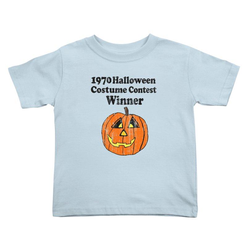 Vintage 1970 Halloween Costume Contest Winner Kids Toddler T-Shirt by ericallen's Artist Shop