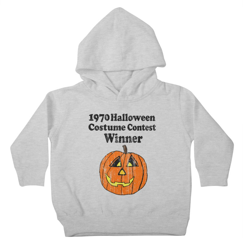 Vintage 1970 Halloween Costume Contest Winner Kids Toddler Pullover Hoody by ericallen's Artist Shop