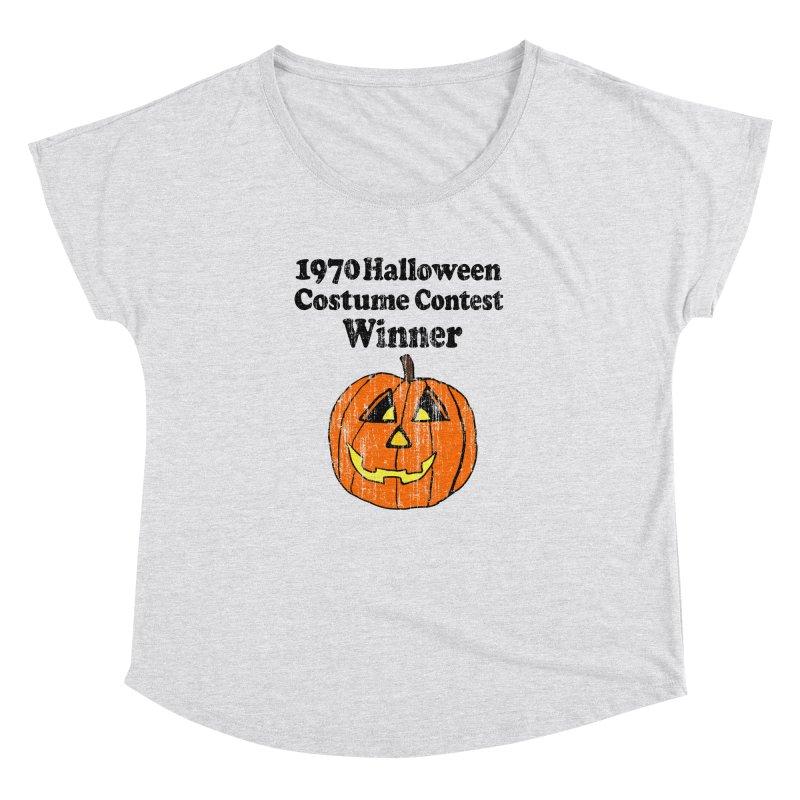 Vintage 1970 Halloween Costume Contest Winner Women's Dolman by ericallen's Artist Shop