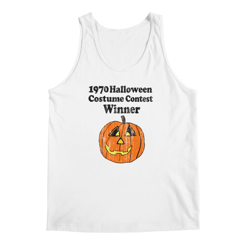 Vintage 1970 Halloween Costume Contest Winner Men's Tank by ericallen's Artist Shop