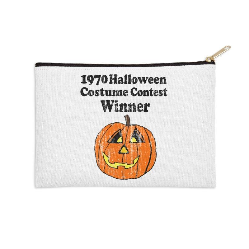 Vintage 1970 Halloween Costume Contest Winner Accessories Zip Pouch by ericallen's Artist Shop